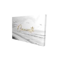 Canvas 24 x 36 - 3D - Namaste