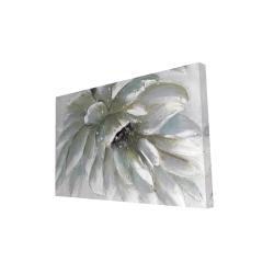 Canvas 24 x 36 - 3D - White chrysanthemum