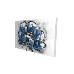 Canvas 24 x 36 - 3D - Small flower