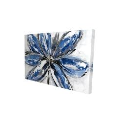 Canvas 24 x 36 - 3D - Blue petal