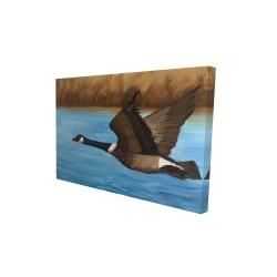Canvas 24 x 36 - 3D - Canada goose