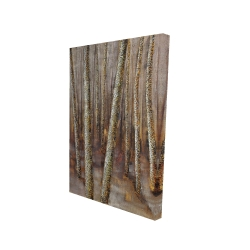 Canvas 24 x 36 - 3D - Forest