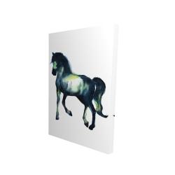 Canvas 24 x 36 - 3D - Elegant horse