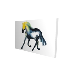 Canvas 24 x 36 - 3D - Galloping horse