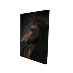 Canvas 24 x 36 - 3D - Spirit the horse