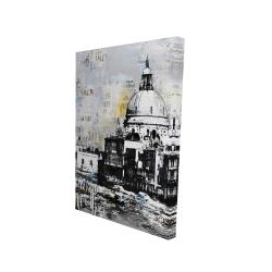 Canvas 24 x 36 - 3D - Basilica of santa maria della salute