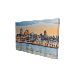 Canvas 24 x 36 - 3D - Skyline of quebec city