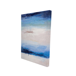 Canvas 24 x 36 - 3D - Colors of the beach