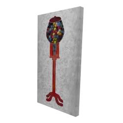 Canvas 24 x 48 - 3D - Chewing gum dispenser