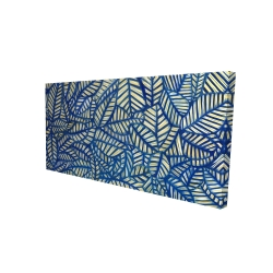 Canvas 24 x 48 - 3D - Leaves patterns