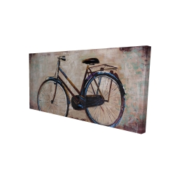 Canvas 24 x 48 - 3D - Industrial bicycle