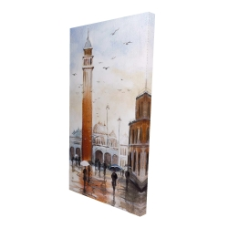 Canvas 24 x 48 - 3D - St mark's square in venice