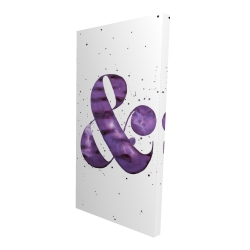 Canvas 24 x 48 - 3D - Ampersand