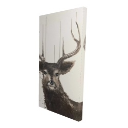 Canvas 24 x 48 - 3D - Abstract deer