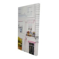 Canvas 24 x 48 - 3D - West coast houses