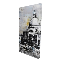 Canvas 24 x 48 - 3D - Basilica of santa maria della salute