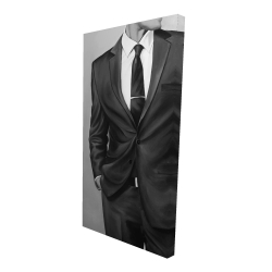 Canvas 24 x 48 - 3D - Man in a great costume