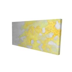 Toile 24 x 48 - 3D - érosion dorée