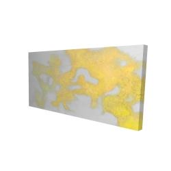 Canvas 24 x 48 - 3D - Gold stains