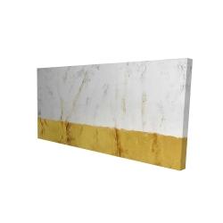 Canvas 24 x 48 - 3D - Golden shine