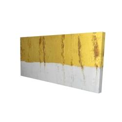 Canvas 24 x 48 - 3D - Golden stripe