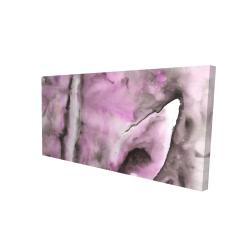 Canvas 24 x 48 - 3D - Purple