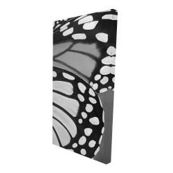 Canvas 24 x 48 - 3D - Butterfly wings closeup