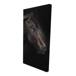 Canvas 24 x 48 - 3D - Loneliness horse