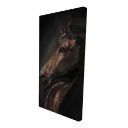 Canvas 24 x 48 - 3D - Spirit the horse