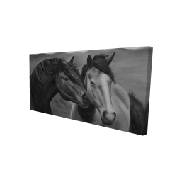 Canvas 24 x 48 - 3D - Tenderness
