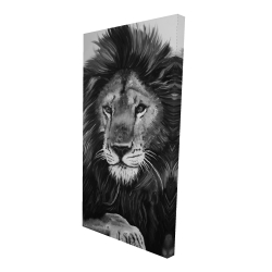 Canvas 24 x 48 - 3D - The lion king