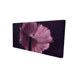 Canvas 24 x 48 - 3D - Purple petals