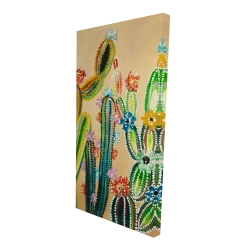Canvas 24 x 48 - 3D - Desert gems
