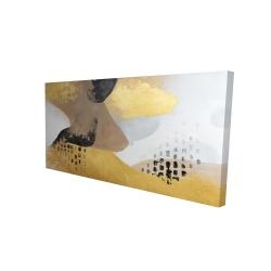 Canvas 24 x 48 - 3D - Improvisation
