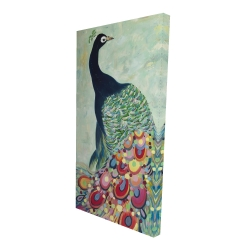Canvas 24 x 48 - 3D - Proud as a peacock
