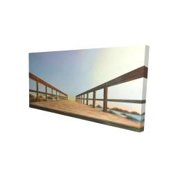 Canvas 24 x 48 - 3D - Footbridge