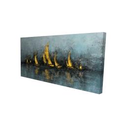 Canvas 24 x 48 - 3D - Set sail