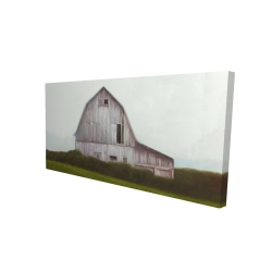 Canvas 24 x 48 - 3D - Rustic barn