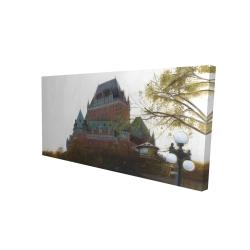 Canvas 24 x 48 - 3D - Le château de frontenac in autumn