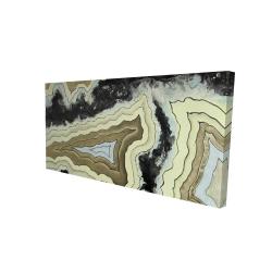 Canvas 24 x 48 - 3D - Lace agate