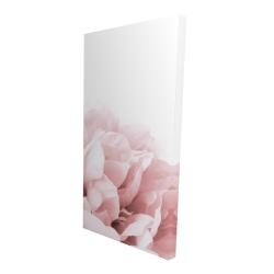 Canvas 24 x 48 - 3D - Peony flower dream