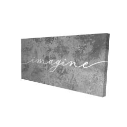 Canvas 24 x 48 - 3D - Imagine