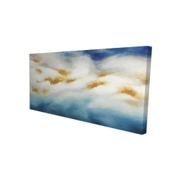 Canvas 24 x 48 - 3D - Abstract landscape