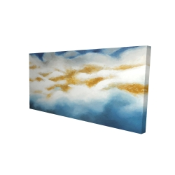 Canvas 24 x 48 - 3D - Abstract clouds