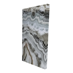 Canvas 24 x 48 - 3D - Abstract geode
