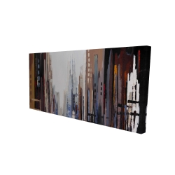 Canvas 24 x 48 - 3D - Abstract buildings
