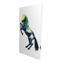 Canvas 24 x 48 - 3D - Greeting horse
