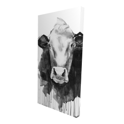 Canvas 24 x 48 - 3D - Cow