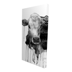 Canvas 24 x 48 - 3D - Jersey cow
