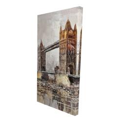 Canvas 24 x 48 - 3D - London tower bridge